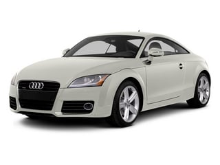 Ibis White 2014 Audi TT Pictures TT Coupe 2D AWD photos front view