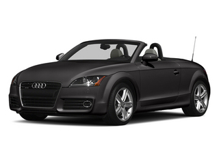 Oolong Gray Metallic/Black Roof 2014 Audi TT Pictures TT Roadster 2D AWD photos front view