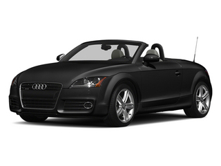 Phantom Black Pearl Effect/Black Roof 2014 Audi TT Pictures TT Roadster 2D AWD photos front view