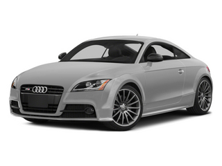 Ice Silver Metallic 2014 Audi TTS Pictures TTS Coupe 2D AWD photos front view