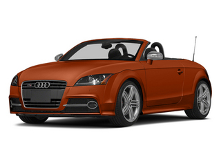 Volcano Red Metallic/Black Roof 2014 Audi TTS Pictures TTS Roadster 2D AWD photos front view