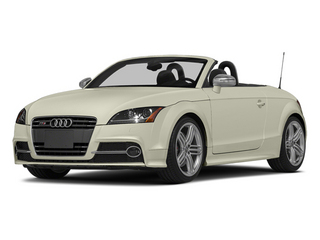 Glacier White Metallic/Black Roof 2014 Audi TTS Pictures TTS Roadster 2D AWD photos front view