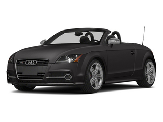 Oolong Gray Metallic/Black Roof 2014 Audi TTS Pictures TTS Roadster 2D AWD photos front view