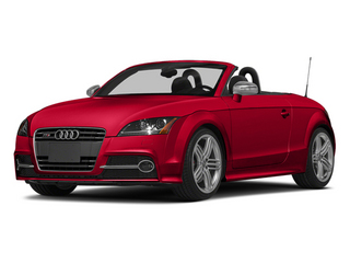 Misano Red Pearl Effect/Black Roof 2014 Audi TTS Pictures TTS Roadster 2D AWD photos front view