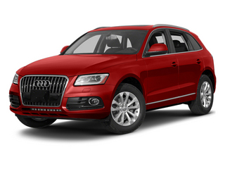 Volcano Red Metallic 2014 Audi Q5 Pictures Q5 Util 4D TDI Premium Plus S-Line AWD photos front view