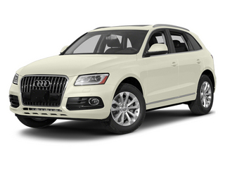 Glacier White Metallic 2014 Audi Q5 Pictures Q5 Util 4D TDI Premium Plus S-Line AWD photos front view