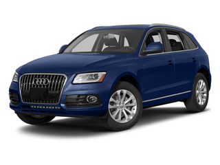 Scuba Blue Metallic 2014 Audi Q5 Pictures Q5 Util 4D TDI Premium Plus S-Line AWD photos front view
