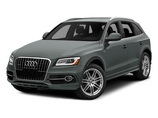 Monsoon Gray Metallic 2014 Audi Q5 Pictures Q5 Utility 4D 2.0T Prestige AWD Hybrid photos front view