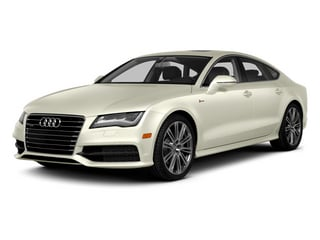 Glacier White Metallic 2014 Audi A7 Pictures A7 Sedan 4D 3.0T Prestige AWD photos front view