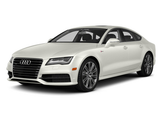 Ibis White 2014 Audi A7 Pictures A7 Sedan 4D 3.0T Prestige AWD photos front view