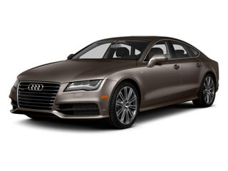 Dakota Gray Metallic 2014 Audi A7 Pictures A7 Sedan 4D 3.0T Prestige AWD photos front view