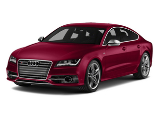 Garnet Red Pearl Effect 2014 Audi S7 Pictures S7 Sedan 4D S7 Prestige AWD V8 photos front view