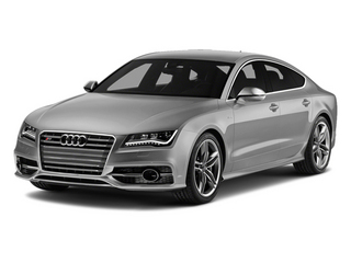 Ice Silver Metallic 2014 Audi S7 Pictures S7 Sedan 4D S7 Prestige AWD V8 photos front view