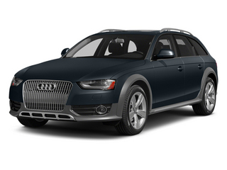 Moonlight Blue Metallic 2014 Audi allroad Pictures allroad Wagon 4D Premium AWD I4 Turbo photos front view