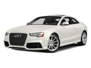 Ibis White 2014 Audi RS 5 Pictures RS 5 Coupe 2D RS5 AWD V8 photos front view