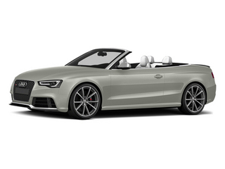 Prism Silver Crystal Effect/Black Roof 2014 Audi RS 5 Pictures RS 5 Convertible 2D RS5 AWD V8 photos front view