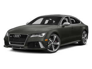 Daytona Gray Pearl Effect 2014 Audi RS 7 Pictures RS 7 Sedan 4D Prestige AWD photos front view