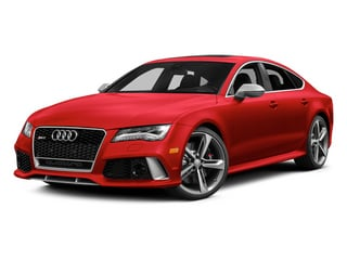 Misano Red Pearl Effect 2014 Audi RS 7 Pictures RS 7 Sedan 4D Prestige AWD photos front view