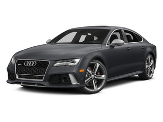 Nardo Gray 2014 Audi RS 7 Pictures RS 7 Sedan 4D Prestige AWD photos front view
