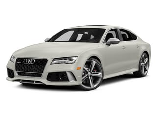 Ibis White 2014 Audi RS 7 Pictures RS 7 Sedan 4D Prestige AWD photos front view