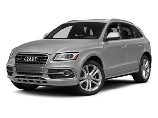 Ice Silver Metallic 2014 Audi SQ5 Pictures SQ5 Utility 4D Premium Plus AWD V6 photos front view