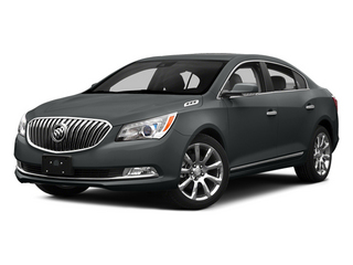Smoky Gray Metallic 2014 Buick LaCrosse Pictures LaCrosse Sedan 4D Leather V6 photos front view