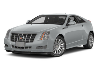 Radiant Silver Metallic 2014 Cadillac CTS Coupe Pictures CTS Coupe 2D Premium AWD V6 photos front view
