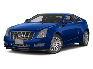 Opulent Blue Metallic 2014 Cadillac CTS Coupe Pictures CTS Coupe 2D Premium AWD V6 photos front view