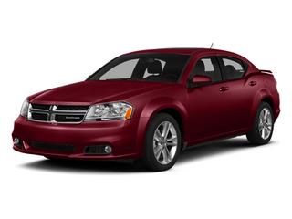 Deep Cherry Red Crystal Pearlcoat 2014 Dodge Avenger Pictures Avenger Sedan 4D SXT I4 photos front view