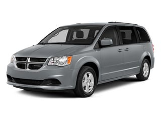 Billet Silver Metallic Clearcoat 2014 Dodge Grand Caravan Pictures Grand Caravan Grand Caravan SXT V6 photos front view