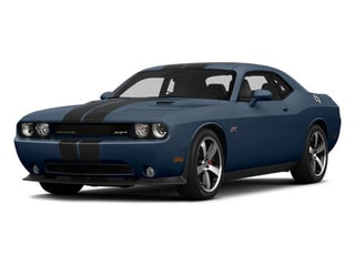 Jazz Blue Pearlcoat 2014 Dodge Challenger Pictures Challenger Coupe 2D SRT-8 V8 photos front view