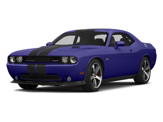 Plum Crazy Pearlcoat 2014 Dodge Challenger Pictures Challenger Coupe 2D SRT-8 V8 photos front view