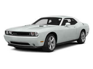 Bright White Clearcoat 2014 Dodge Challenger Pictures Challenger Coupe 2D R/T V8 photos front view