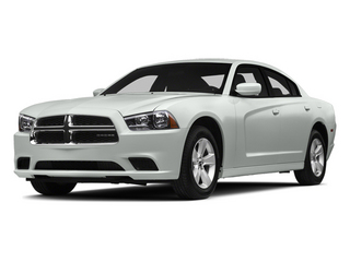 Bright White Clearcoat 2014 Dodge Charger Pictures Charger Sedan 4D SE AWD V6 photos front view