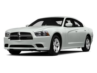 Bright White Clearcoat 2014 Dodge Charger Pictures Charger Sedan 4D SXT V6 photos front view