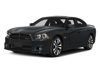 Granite Crystal Metallic Clearcoat 2014 Dodge Charger Pictures Charger Sedan 4D SRT-8 V8 photos front view