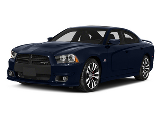 Jazz Blue Pearlcoat 2014 Dodge Charger Pictures Charger Sedan 4D SRT-8 V8 photos front view
