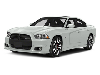 Bright White Clearcoat 2014 Dodge Charger Pictures Charger Sedan 4D SRT-8 V8 photos front view
