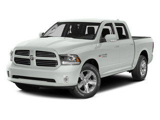 Bright White Clearcoat 2014 Ram Truck 1500 Pictures 1500 Crew Cab Limited 2WD photos front view