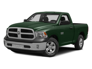 Timberline Green Pearlcoat 2014 Ram Truck 1500 Pictures 1500 Regular Cab Tradesman 4WD photos front view
