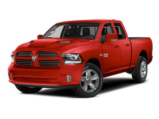 Flame Red Clearcoat 2014 Ram 1500 Pictures 1500 Quad Cab Sport 4WD photos front view