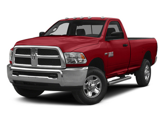 Bright Red 2014 Ram Truck 2500 Pictures 2500 Regular Cab Tradesman 4WD photos front view