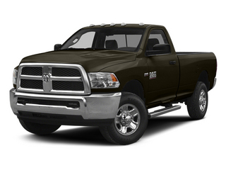 Dark Brown 2014 Ram Truck 2500 Pictures 2500 Regular Cab Tradesman 4WD photos front view
