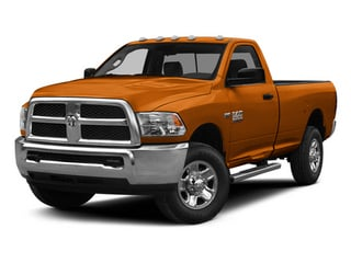 Omaha Orange 2014 Ram Truck 2500 Pictures 2500 Regular Cab Tradesman 4WD photos front view