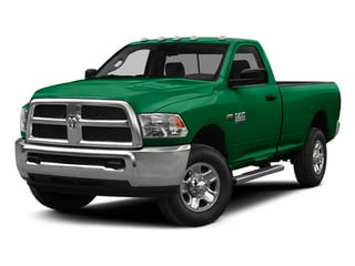 Bright Green 2014 Ram Truck 2500 Pictures 2500 Regular Cab Tradesman 4WD photos front view