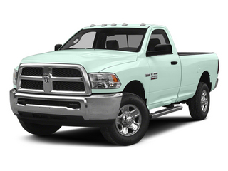 Robin Egg Blue 2014 Ram Truck 2500 Pictures 2500 Regular Cab Tradesman 4WD photos front view
