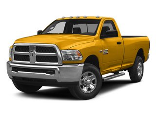 Construction Yellow 2014 Ram Truck 2500 Pictures 2500 Regular Cab Tradesman 4WD photos front view