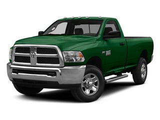 Tree Green 2014 Ram Truck 2500 Pictures 2500 Regular Cab Tradesman 4WD photos front view