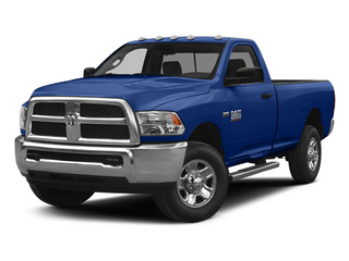Blue Streak Pearlcoat 2014 Ram Truck 2500 Pictures 2500 Regular Cab Tradesman 4WD photos front view