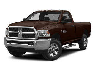 Western Brown 2014 Ram Truck 2500 Pictures 2500 Regular Cab Tradesman 4WD photos front view